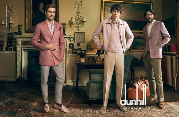 Dunhill Spring Summer 2015 Campaign  http://sidewalkhustle.com/dunhill-springsummer-2015-campaign/