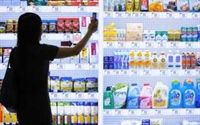 Virtual grocery store targets South Korean straphangers.