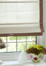 Cordless Espresso Brown Roman Blind - 30% OFF Ready made curtains in pencil pleat, eyelet and tab top, alteration service available @ http://www.ready-made-kurtinz.com/