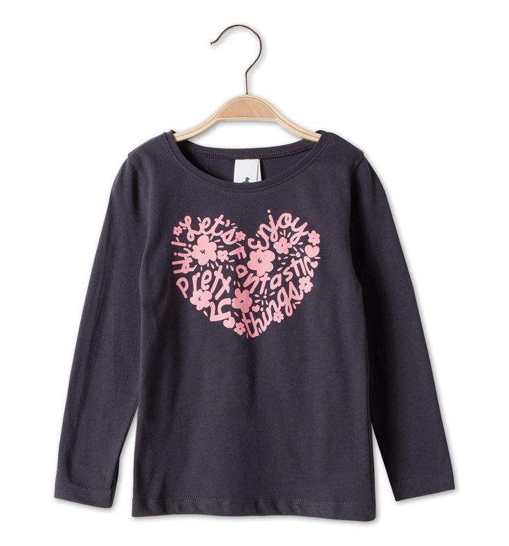 Sklep internetowy C&A | T-shirt, kolor:  ciemnoszary | Dobra jakość w niskiej cenie