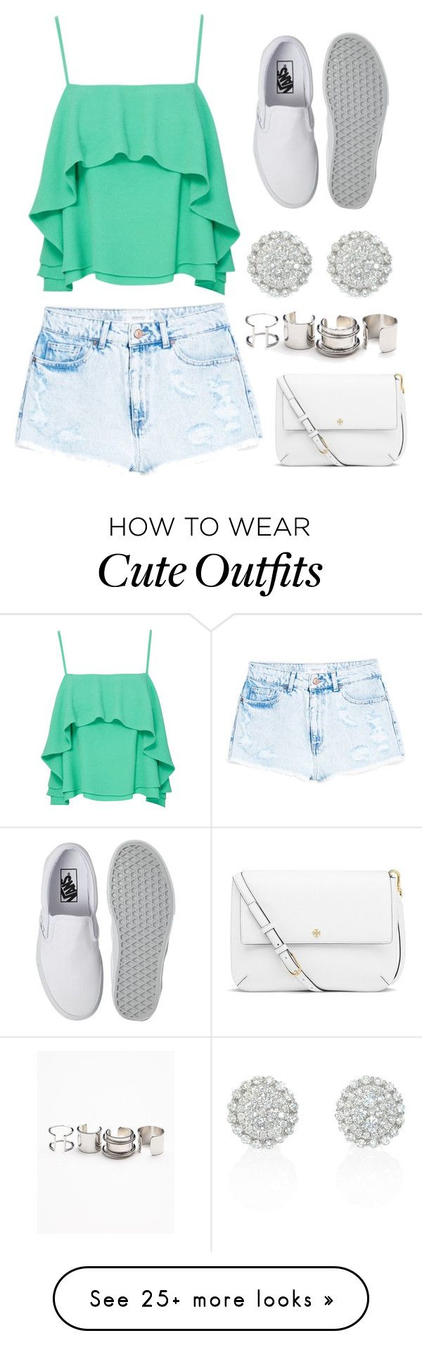 Cute Pre-Spring Outfit :) by ashantiannasmith on Polyvore featuring Free People, Apiece Apart, MANGO, Vans and Tory Burch