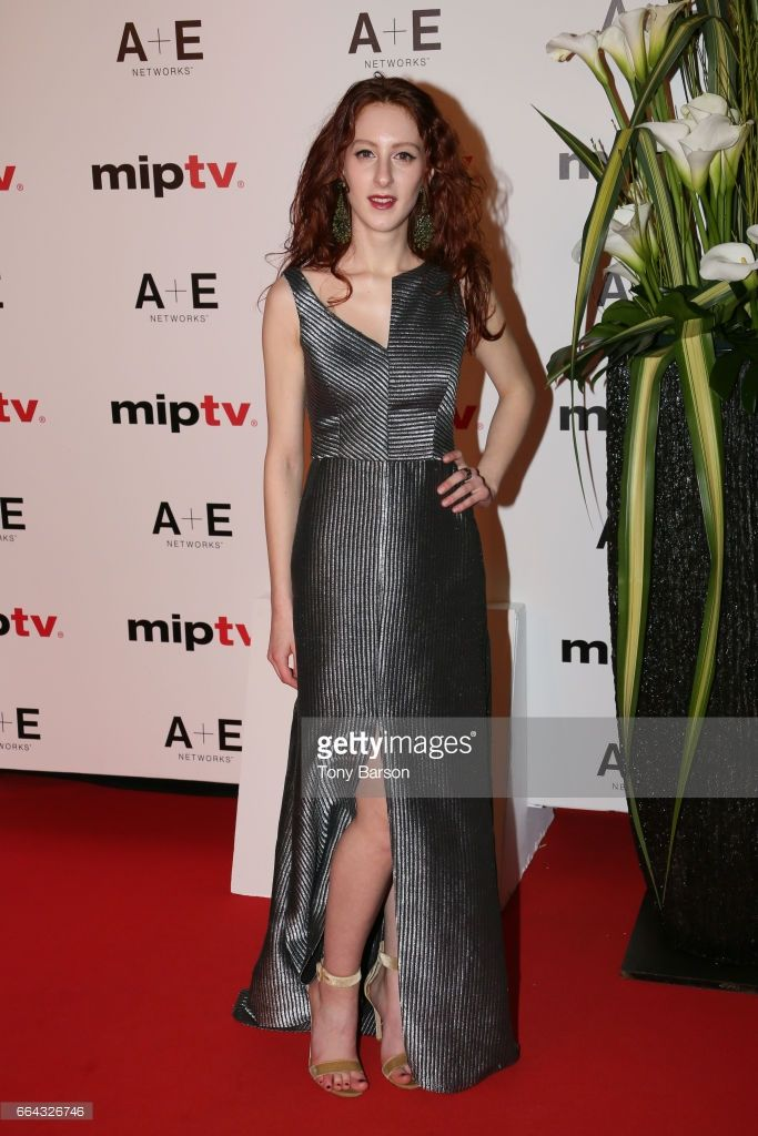 Roxane Duran arrives at the MIPTV 2017 Opening Party at the Martinez Hotel on April 4, 2017 in Cannes, France.