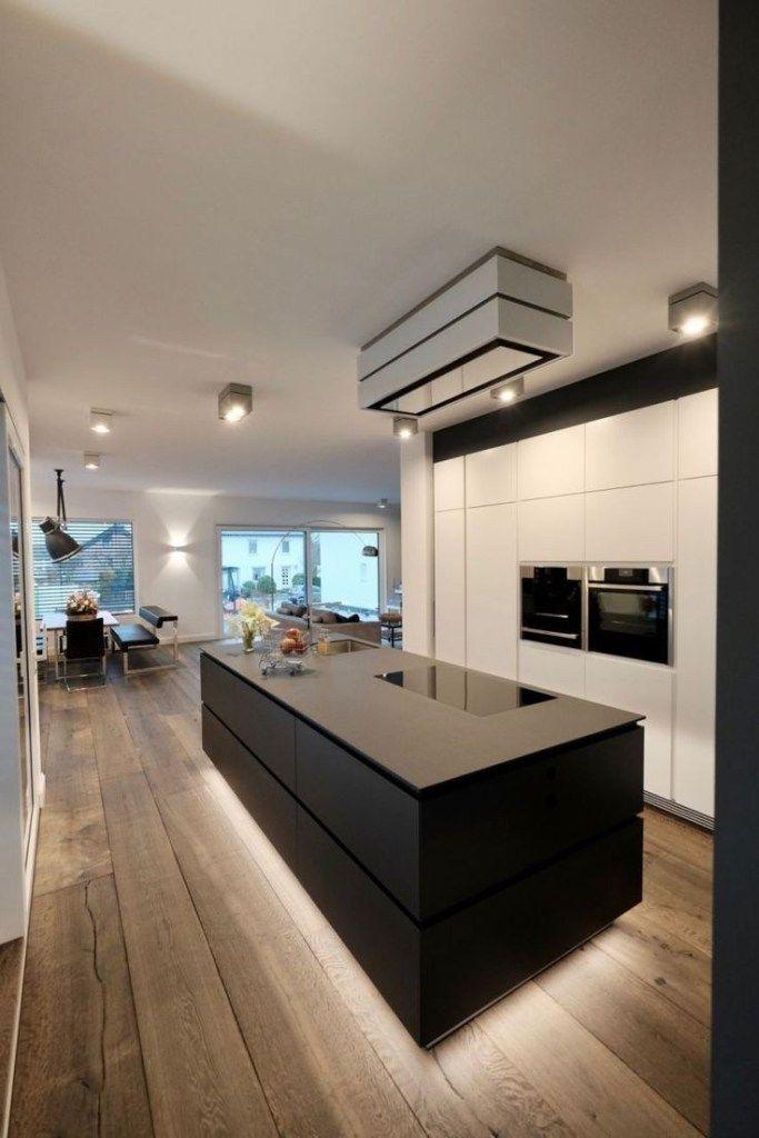 ✔60 gorgeous black kitchen ideas for every decorating style 46 #kitchendesign #kitchenideas