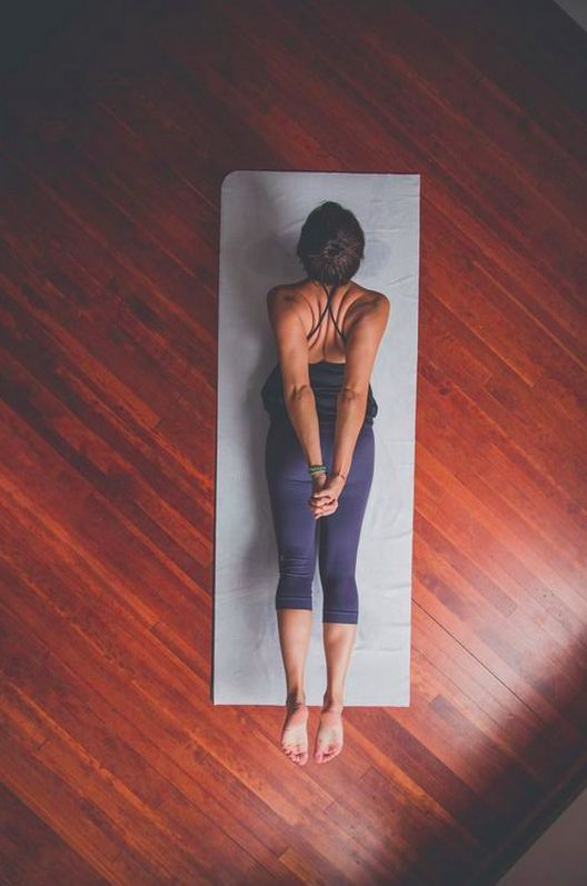 """""""You can't win yoga. A concept that I hadn't considered: a practice for no purpose but the sake of itself."""""""