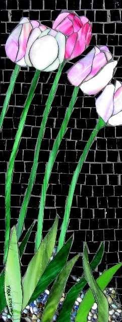 Tulips    #mosaic #design