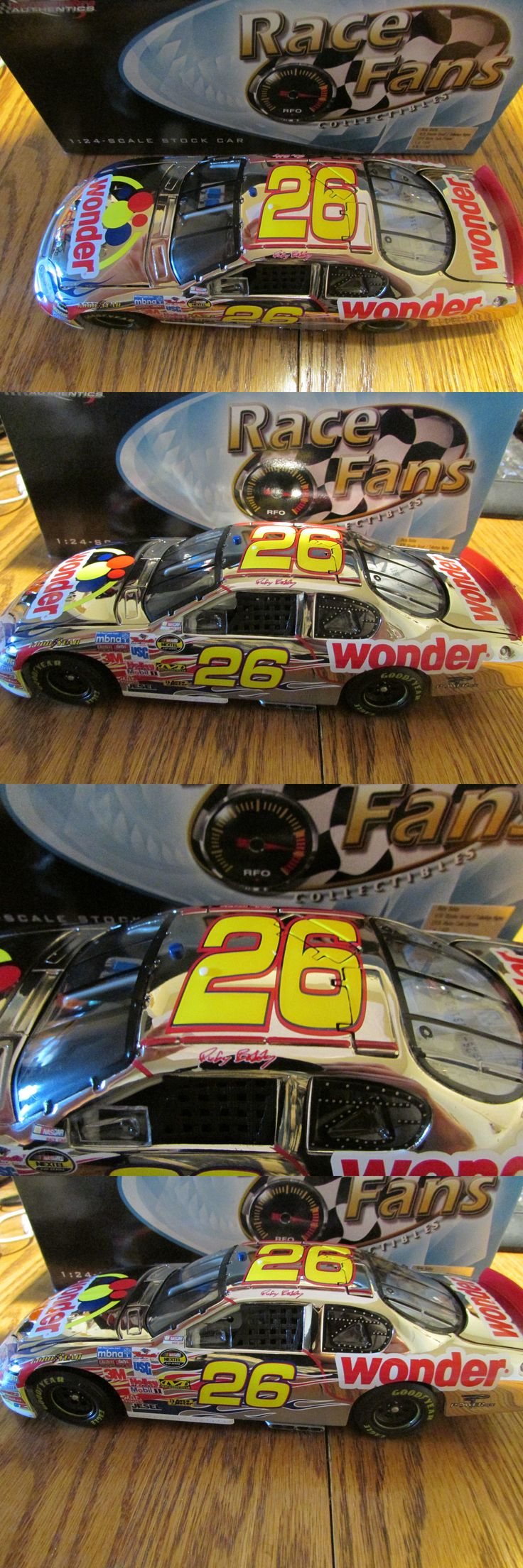 Sport and Touring Cars 180272: 2005 Ricky Bobby #26 Wonder Bread Talladega Nights Chrome Fast Free Shipping -> BUY IT NOW ONLY: $84.99 on eBay!