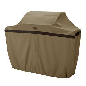 Classic Accessories Hickory Polyester 26-In Gas Grill Cover 55-197-062