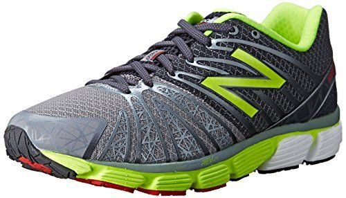 New Balance Mens M890 Neutral Running Shoe GreyYellow 85 D US * Click image for more details.(This is an Amazon affiliate link and I receive a commission for the sales)