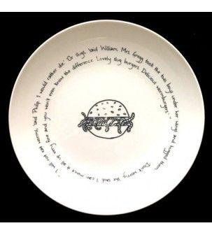 Handpainted Porcelain Salad Plates Quotes 11