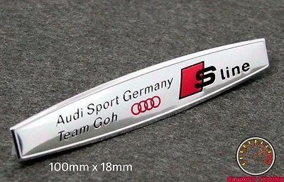 Audi sport germany team goh #emblem #badge a3 (#4si) a4 s3 s4 tt #quattro a1 r8 r,  View more on the LINK: 	http://www.zeppy.io/product/gb/2/201367757040/