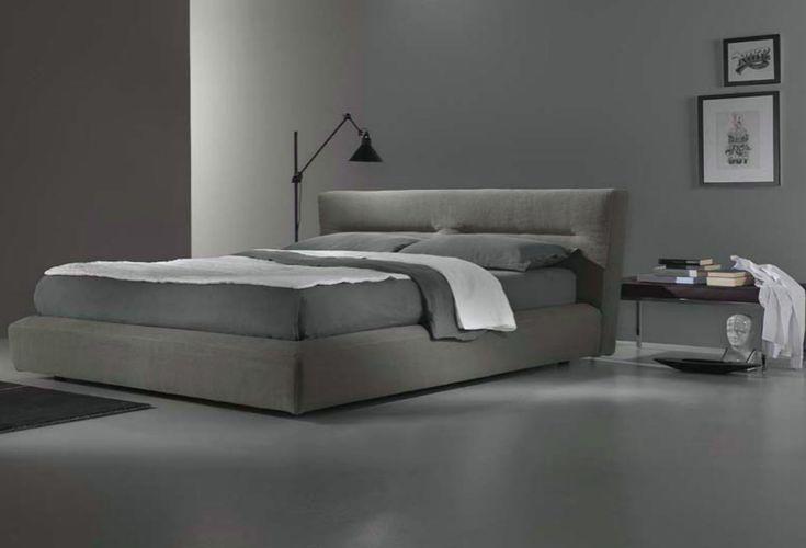 Επενδεδυμένο Κρεβάτι με Ύφασμα ή Δερματίνη  IP-050468