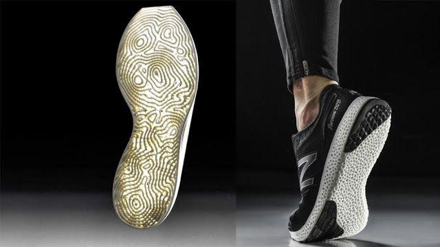 New Balance lanza sus tenis realizados con tecnología 3D - Impresoras 3D México…