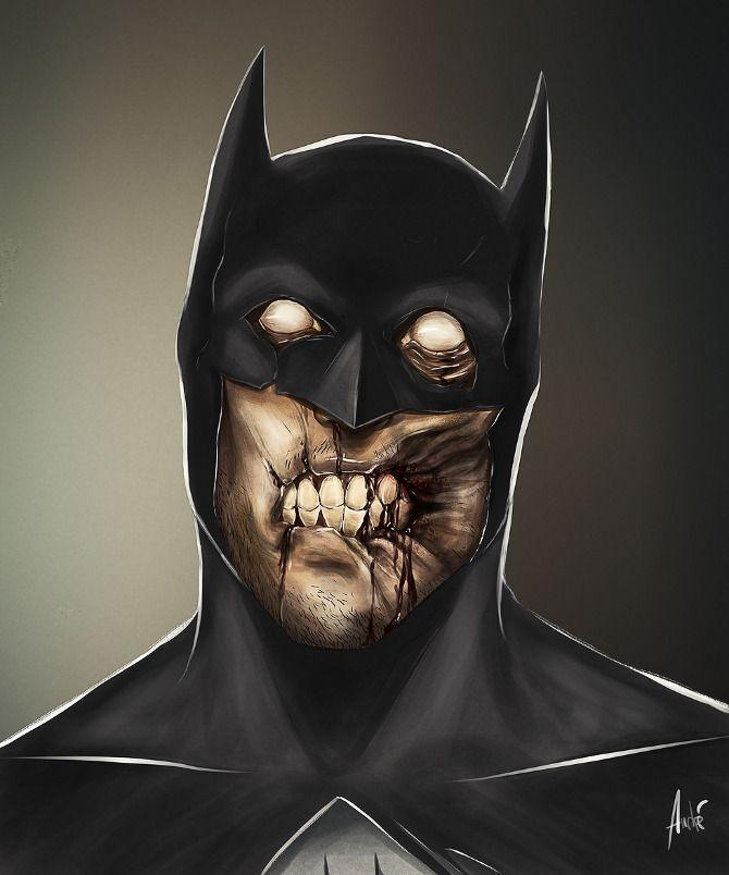 Batman zombie by Andre