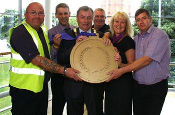 Mewtownabbey Borough Council awarded IIP Gold