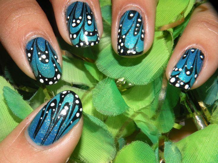 Mejores 77 imágenes de Nails en Pinterest   Estilos de maquillaje ...