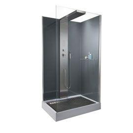 17 best images about douche on pinterest double shower. Black Bedroom Furniture Sets. Home Design Ideas