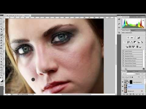 """SirBlakeTV: Portrait Photography Editing Tips [Photoshop CS5]  (I always wondered what """"Add Noise"""" was for!)"""