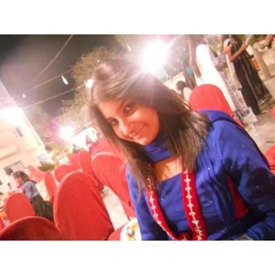 Pakistani beautiful girl in blue salwar kameez