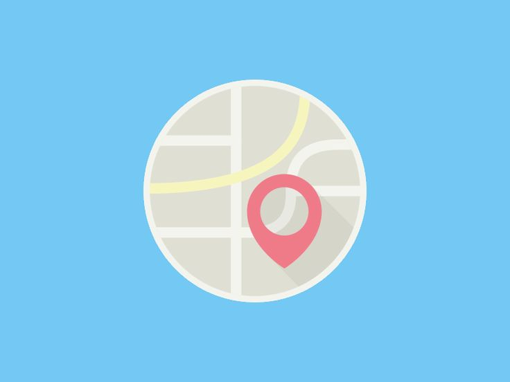 Motion Icons Map Features By Seth Eckert