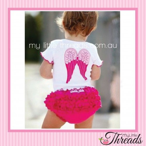 Cute Pink Bloomers and Angel Top