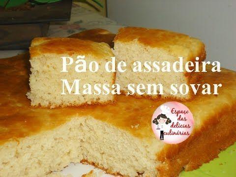 Mais receitas acessem o blog www.espacodasdeliciasculinarias.com Ingredientes: * 2 ovos * 3 colheres de sopa de açúcar * 10 gr de fermento seco para pão (1 p...