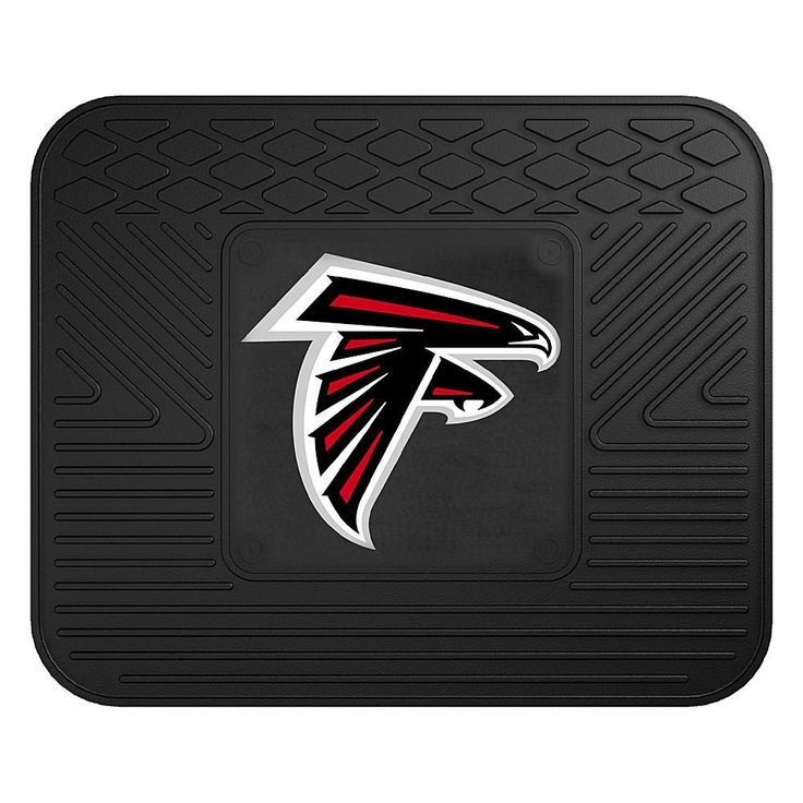 "Officially Licensed NFL Team Logo 14"" x 17"" Mat by Sports Licensing Solutions - Cowboys - Falcons"