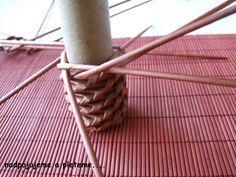 Pleteme z papíru a různé dekorace - Fotoalbum - Návody - Návod na točené pletení