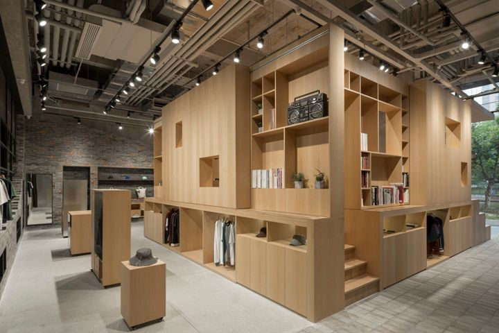 DOE Store by B.L.U.E. Architecture Studio, Shanghai – China