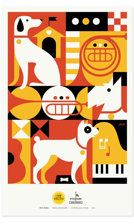 #houseofdesign | Pets Rock Posters - 8 Hour Day