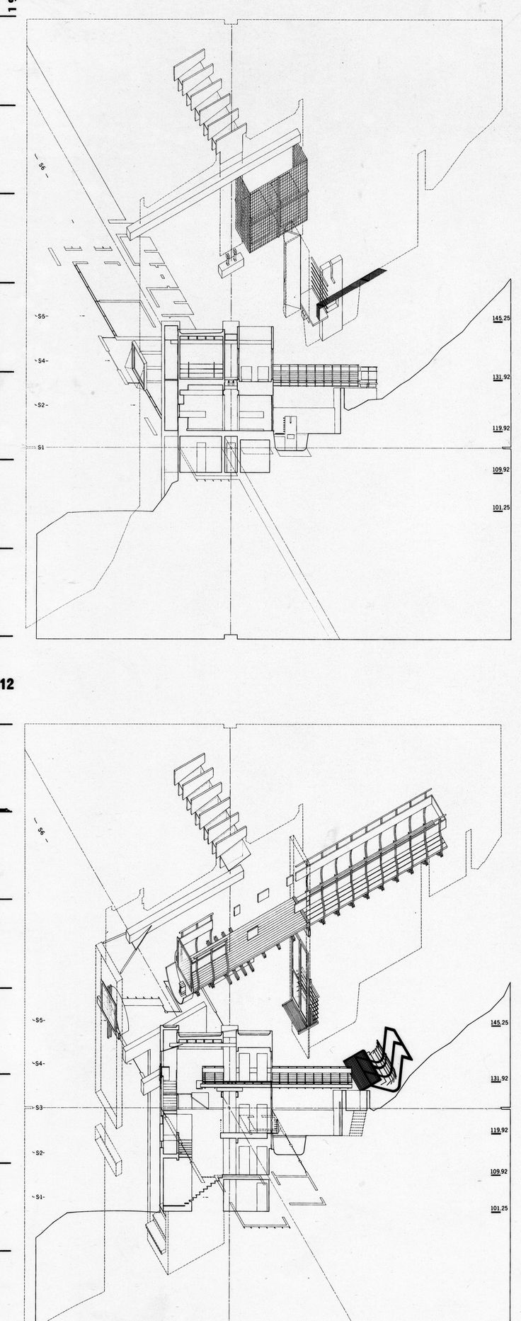 architecture drawing morphosis house