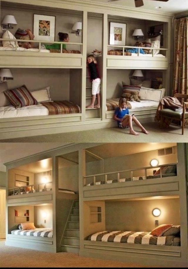 Best Bunk Beds Ever Only In My Dreams Pinterest Love