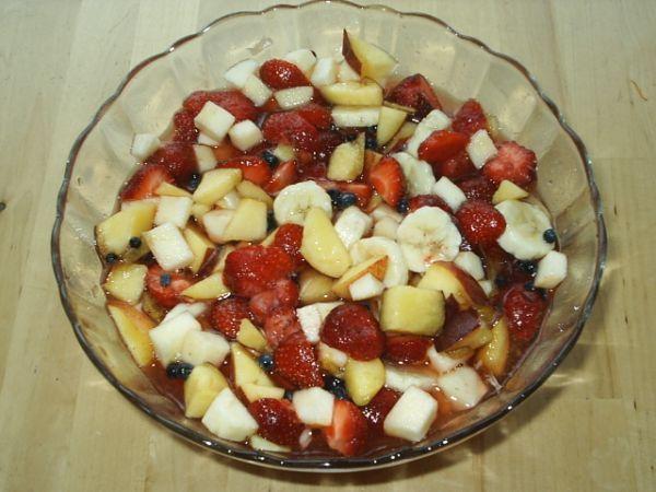 Fantastický letní osvěžující ovocný salát!!!!!