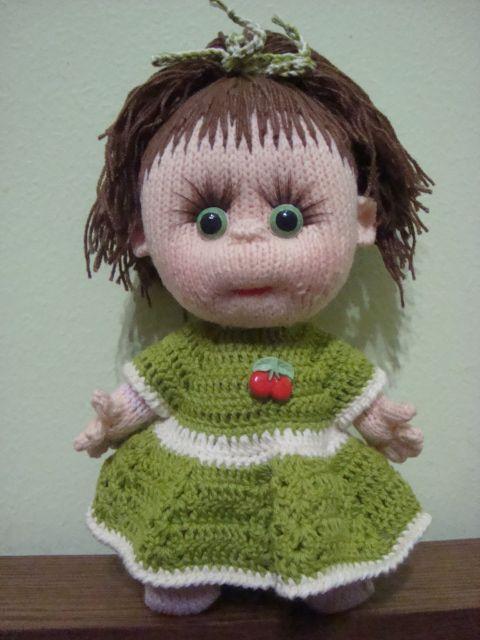 схемы вязания для кукол