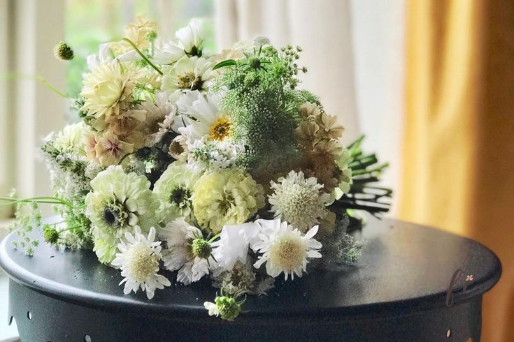 Seeds to Plant For A Wild Garden Style Summer Bridal Bouquet