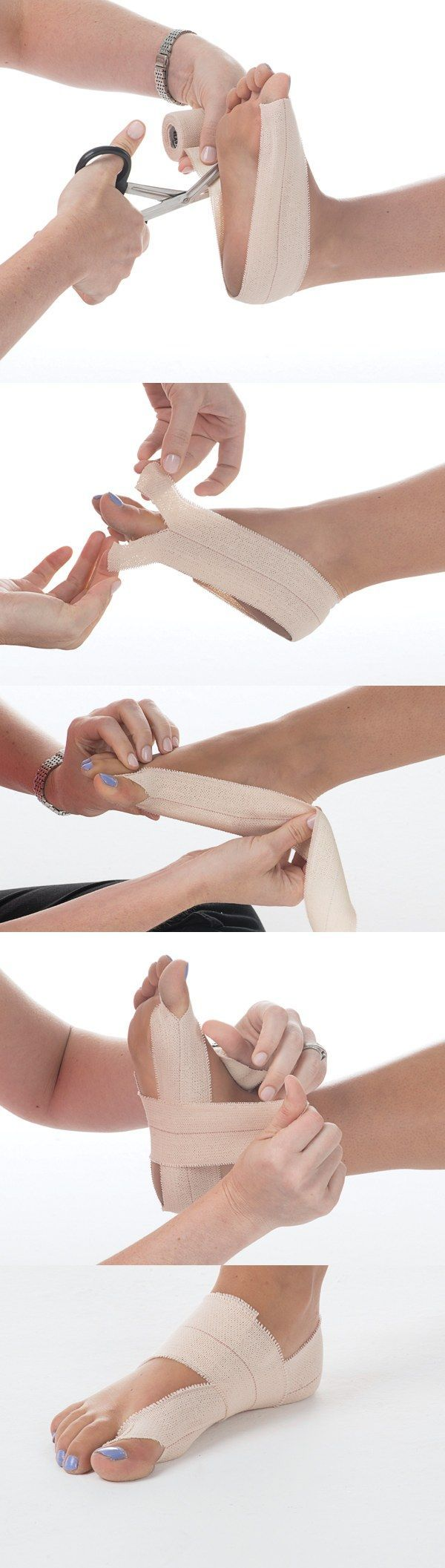 """Tape can be your friend when it comes to pain management—from chronic injuries, like plantar fasciitis and Achilles tendonitis, to acute injuries, like ankle sprains. """"When applied correctly, tape can help a dancer support and protect an overworked muscle, tendon or ligament by limiting its movement..."""
