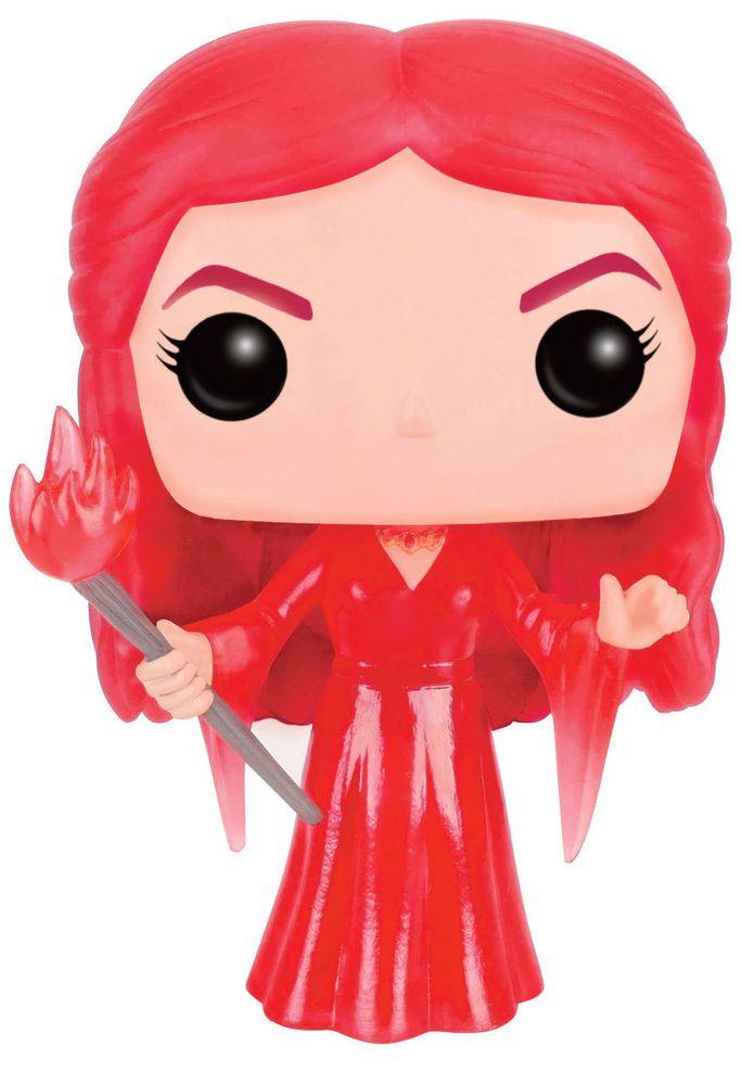 Game of Thrones POP! Television Vinyl Figur Translucent Melisandre 9 cm