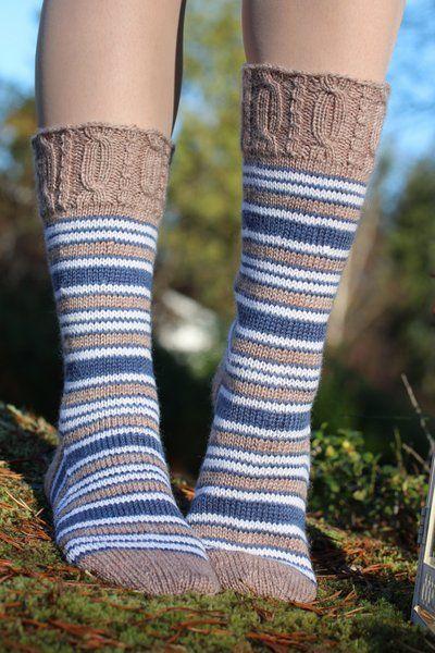 IINU: OHJE: Mustikkamaito- sukat