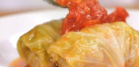 Stuffed Cabbage Rolls ~ Japanese Style   Her Recipe for Cabbage Rolls is Downright Amazing