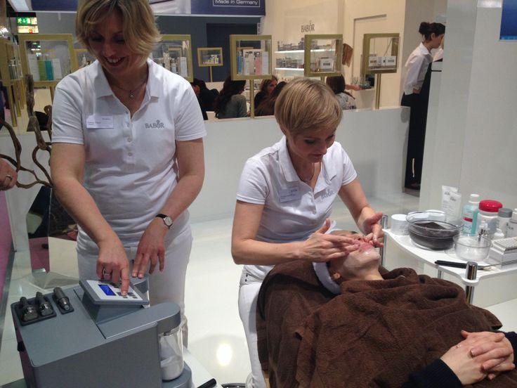 BABOR Treatment at Beauty Dûsseldorf 2014 #babor #baborspa #beautydusseldorf2014 #baborsverige