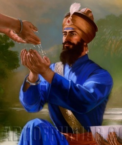 Guru Gobind Singh Sahib Ji who is the 10th Guru