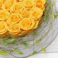 ::Κατασκευή κίτρινα τριαντάφυλλα