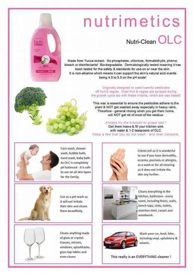 OLC Great Uses from washing the dog to washing the fruit & vegies, bath time, so many uses   www.nutrimetics.com.au/debosborn
