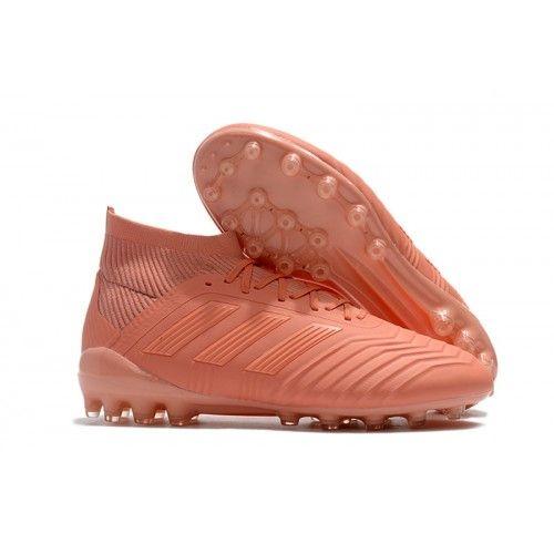 info for c91a1 4a243 Rosado 2018 Botas de fútbol Adidas Predator 18.1 AG Nuevos Hombre Baratas