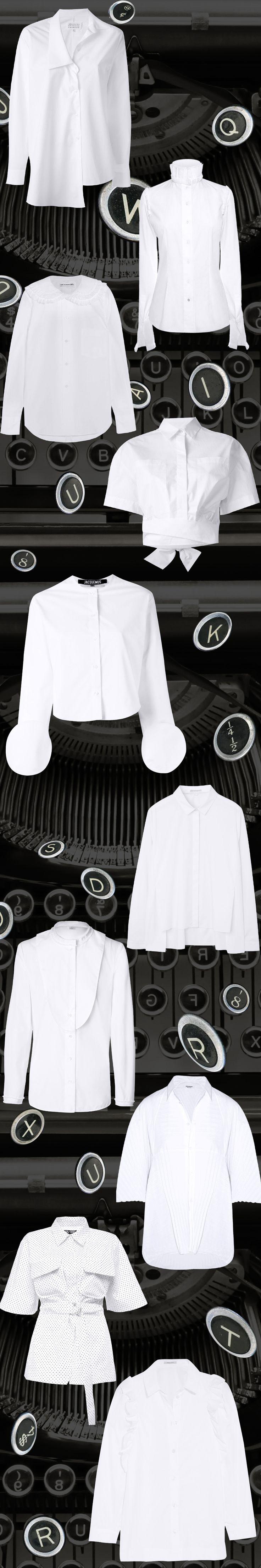Эталонный образец: Белые рубашки | Interview Россия