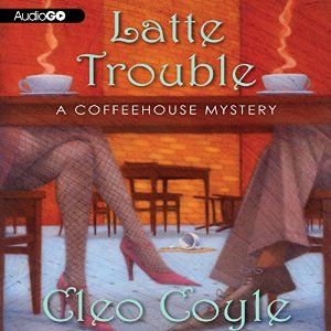 Amazon.com: Latte Trouble (Audible Audio Edition): Cleo Coyle, Rebecca Gibel, Inc. Blackstone Audio: Books