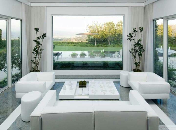 86 best Living room design images on Pinterest Home - all white living room