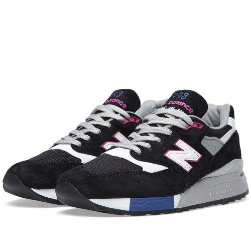 New Balance M998BK - Made in the USA (Black & Violet)