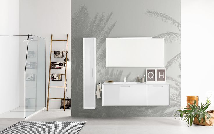 A refined and elegant furniture collection for your #bathroom: Summit 2.0 13 by Mastella #interiors #interiordesign #furniture #bath #bathroom #bathdesign