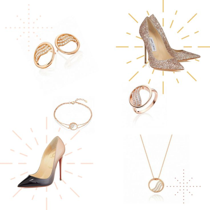 From Christian Louboutin to Jimmy Choo and all the shades between them our Persian Rose Collection is the perfect match!  👉 http://shardsoflondon.com/persian-rose 💋  #Jewellery #OOTD