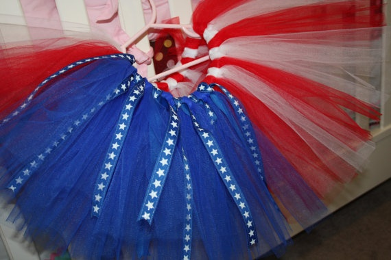 Stars and Stripes Tutu by CarouselKiddies on Etsy, $20.00